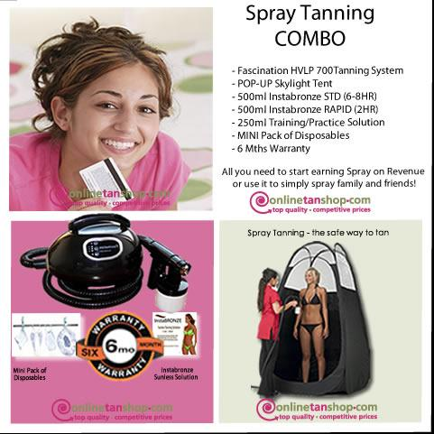 SPRAY TANNING COMBO product picture
